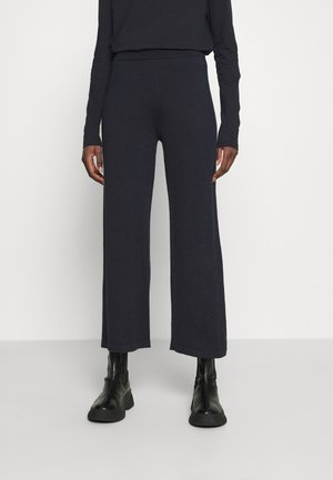 THELMA CULOTTE - Trousers - navy melange