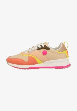 Sneakers laag - coral multi
