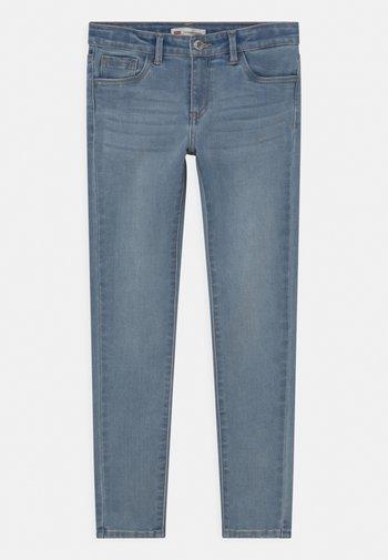 710 SUPER SKINNY  - Jeansy Skinny Fit - bleached denim