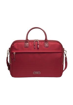 Laptop bag - garnet red