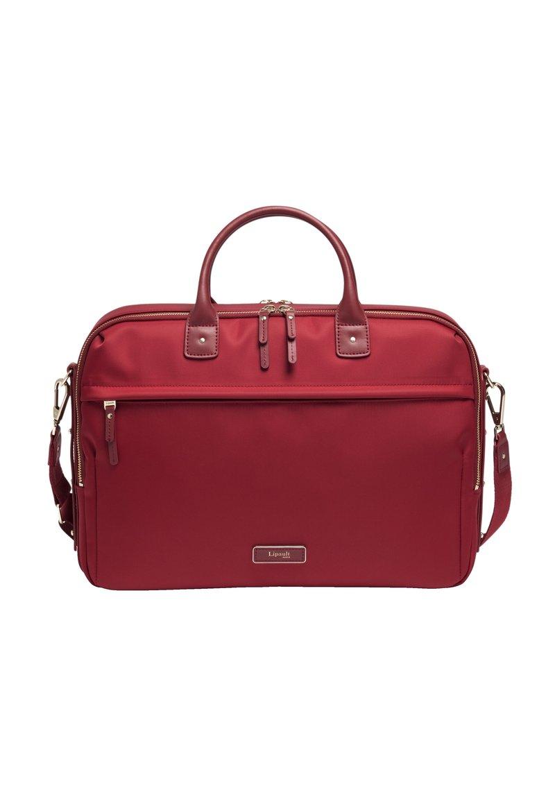 Lipault - Laptop bag - garnet red