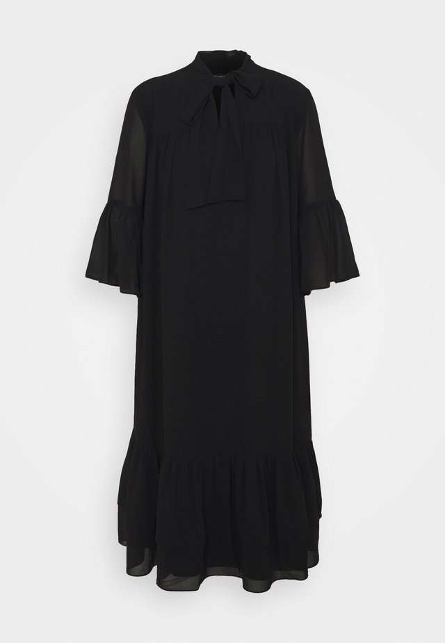 AVIOR ROBIN DRESS - Day dress - black