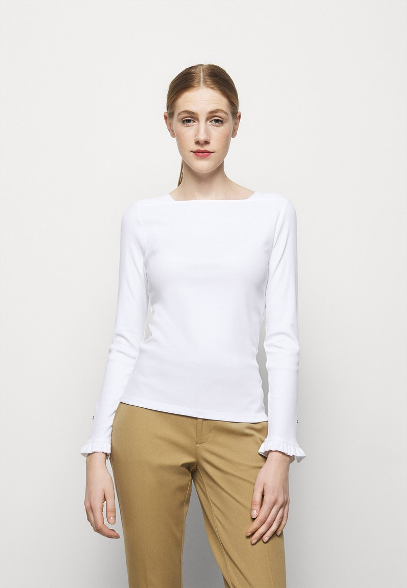 Lauren Ralph Lauren - Long sleeved top - white