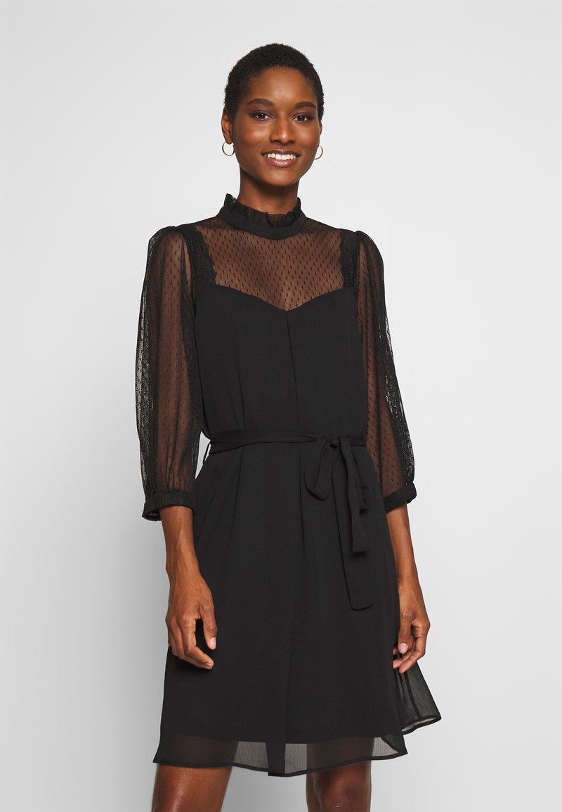 NAF NAF - BLACKIE - Sukienka koktajlowa - noir