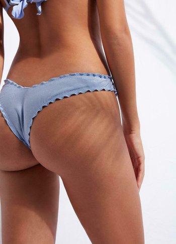 Bikini bottoms - lilla shine
