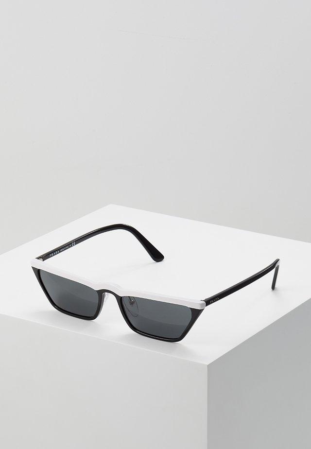 Lunettes de soleil - white/black