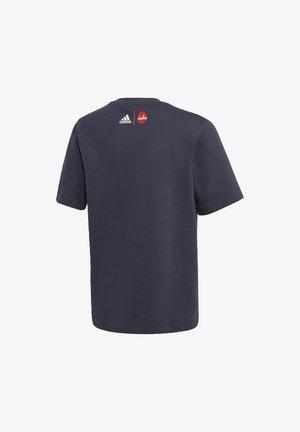 CLEOFUS T-SHIRT - Print T-shirt - blue