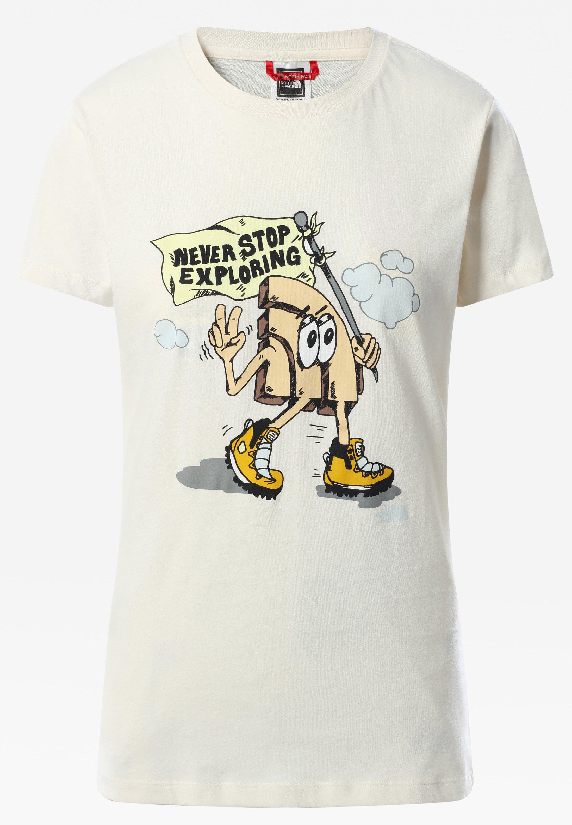 Femme W GRAPHIC S/S TEE - T-shirt imprimé