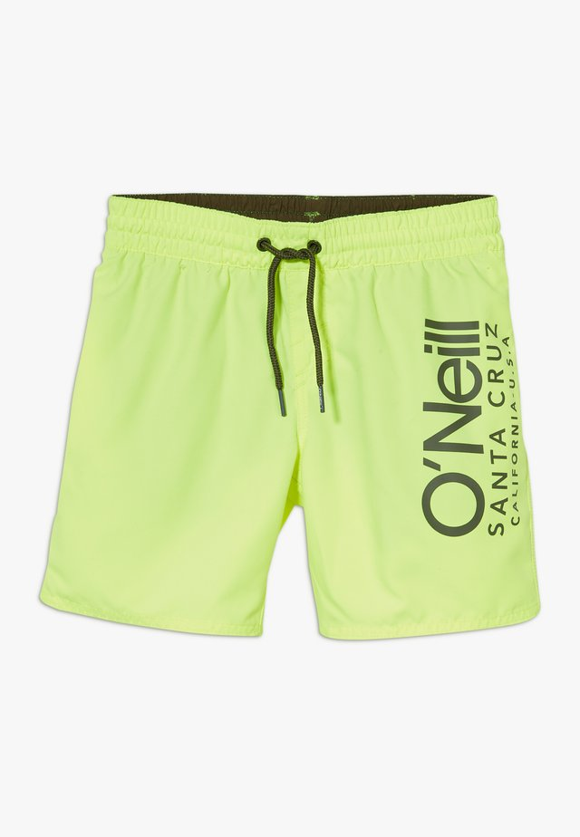 CALI  - Badeshorts - new safety yellow