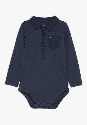 BABY BOY POPLIN - Body - black iris