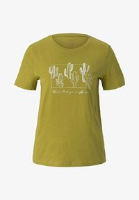 TOM TAILOR - Print T-shirt - gecko green - 4
