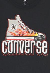 Converse - WARPED CHECKER SNEAKER  - T-shirt imprimé - black - 2