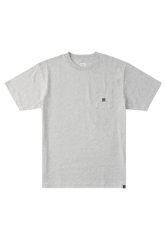 STAR POCKET  - T-shirt print - heather grey