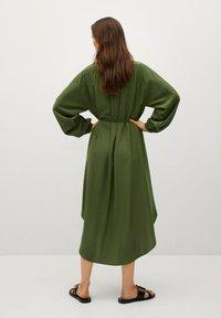 Mango - FARM - Shirt dress - green - 1