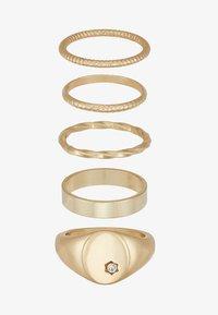 Pieces - Ringar - gold-coloured - 3