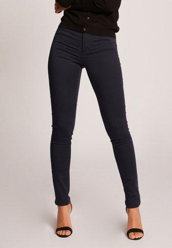 STANDARD WAISTED SKINNY TROUSERS - Jeans Skinny Fit - dark blue