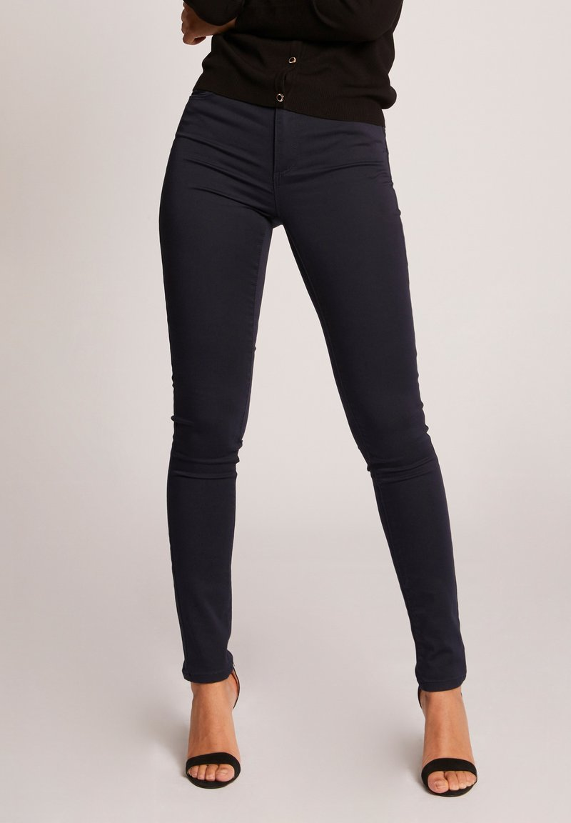 Morgan - STANDARD WAISTED SKINNY TROUSERS - Jeans Skinny Fit - dark blue