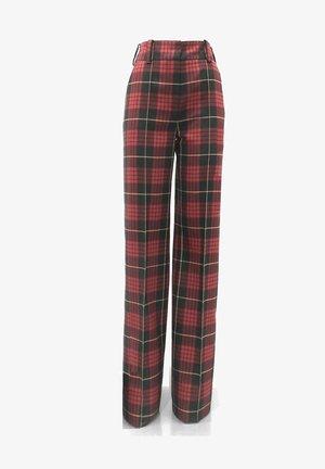 ONIX - Trousers - var rosso/nero