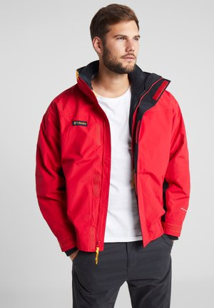BUGABOO 1986 INTERCHANGE 2 IN 1 JACKET - Blouson - mountain red/black