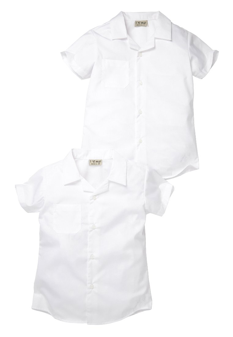 Next - 2 PACK - Button-down blouse - white