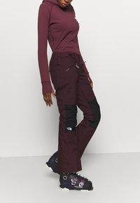 The North Face - ABOUTADAY PANT  - Zimní kalhoty - rootbn/black - 3