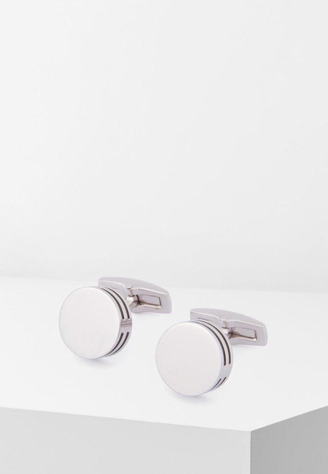 T-BERTOLD - Manchetknapper - silver
