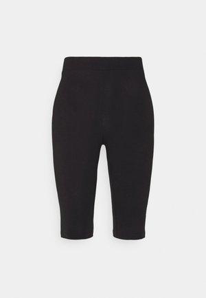 JANESSA SHORT LEGGINGS - Tights - black