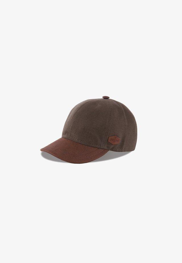 BASEBALL COTTON - Cap - brown