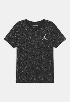 SHINE - T-shirt con stampa - black
