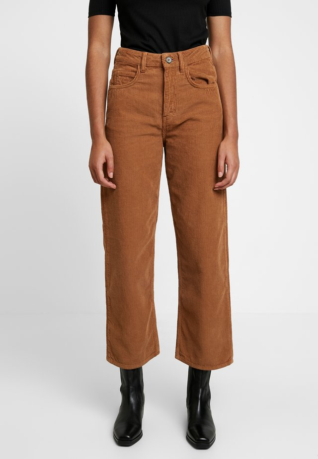 ONO TROUSER - Trousers - tan