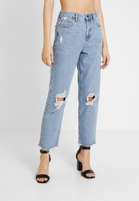 BDG Urban Outfitters - PAX - Jean droit - destroyed denim - 0