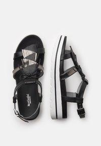 NeroGiardini - Platform sandals - nero - 3