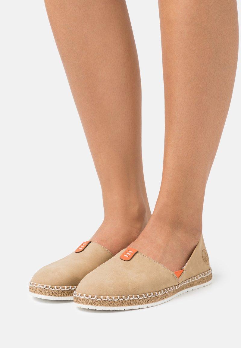 Rieker - Slippers - sand/orange