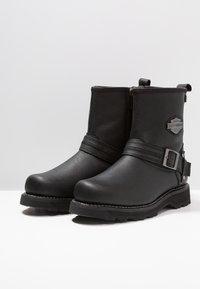 Harley Davidson - RICHTON - Cowboy/biker ankle boot - black - 2