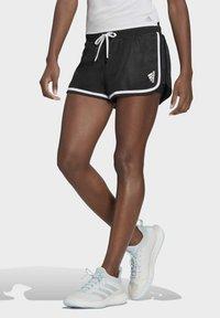 adidas Performance - CLUB SHORT - Urheilushortsit - black - 0