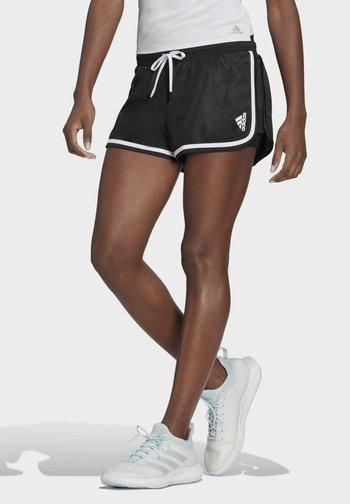 CLUB SHORT - Pantalón corto de deporte - black