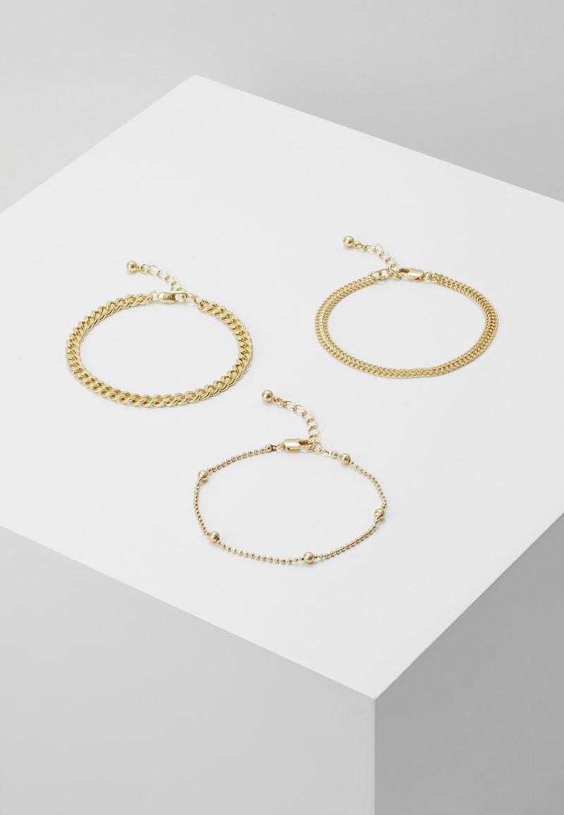 Pieces - PCFIBO BRACELET 3 PACK - Armbånd - gold-coloured
