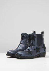 Shoesme - WESTERN - Kotníkové boty - marine - 3