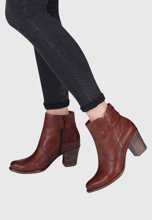 TAMARIS - Classic ankle boots - chestnut