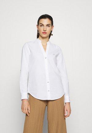 OPEN - Blouse - bright white