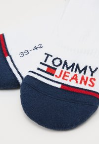 Tommy Jeans - UNISEX NO SHOW MID CUT 2 PACK - Trainer socks - white - 1