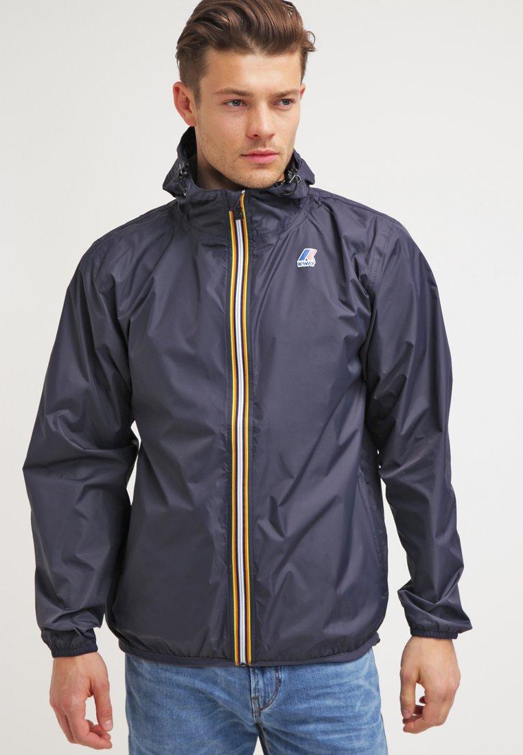 K-Way - LE VRAI CLAUDE UNISEX - Waterproof jacket - depth blue