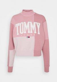 Tommy Jeans - COLLEGIATE CUT SEW CREW - Sweatshirt - pink - 3