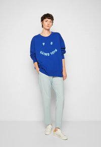 PS Paul Smith - WOMENS FACE - Mikina - blue - 4