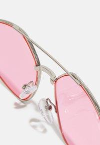 Vintage Supply - UNISEX - Occhiali da sole - ilver-coloured/pink - 3