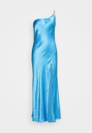 FREDERIC ASYM MIDI DRESS - Robe de soirée - azure