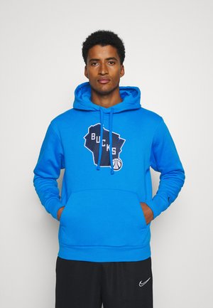 NBA MILWAUKEE BUCKS CITY EDITION ESSENTIAL HOODIE - Article de supporter - photo blue