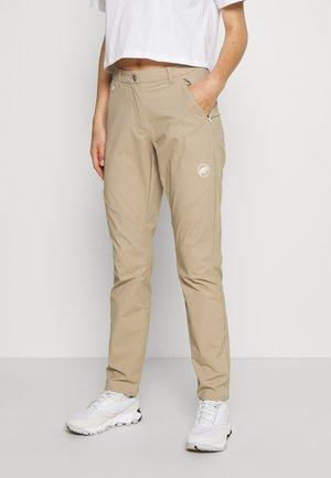 HIKING PANTS WOMEN - Friluftsbukser - safari