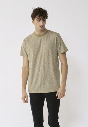 T-shirt med print - light green