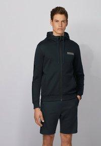 BOSS - SAGGY BATCH Z - Sweater met rits - dark blue - 0